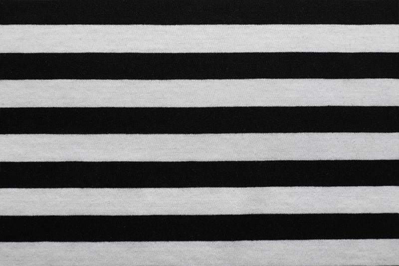 Color-stripes Single Jersey